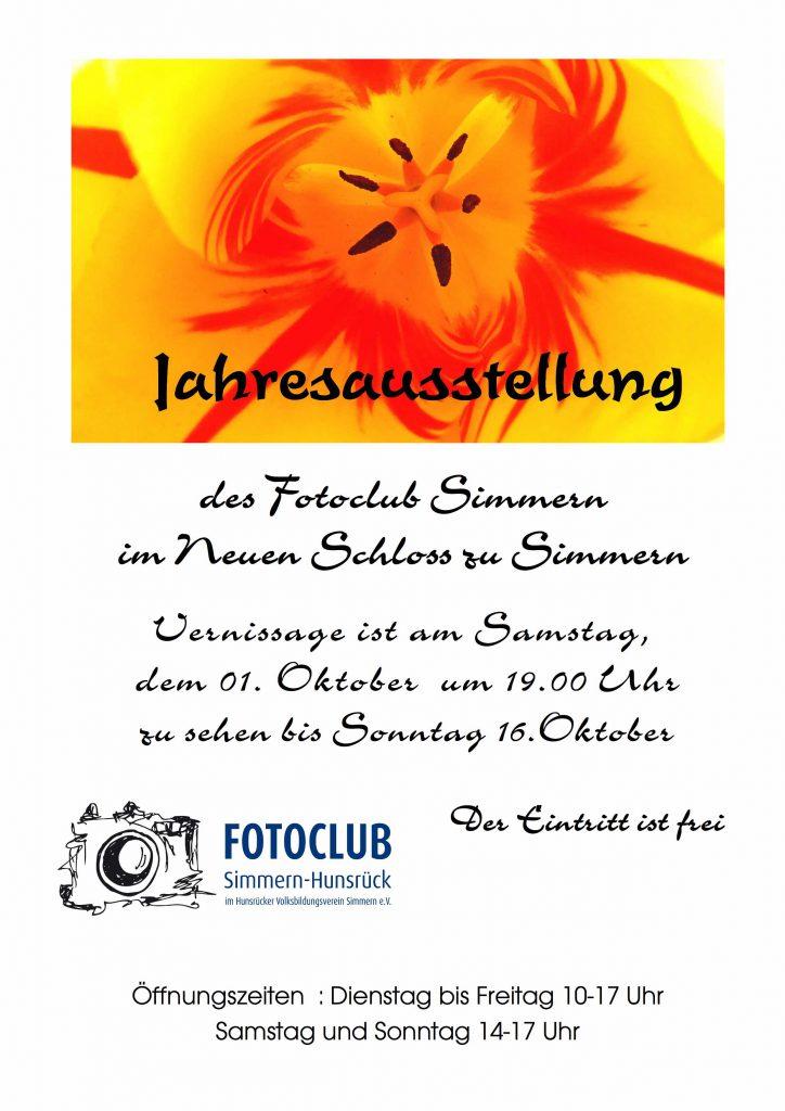 Fotoclub Simmern Hunsrück Ausstellung 2016